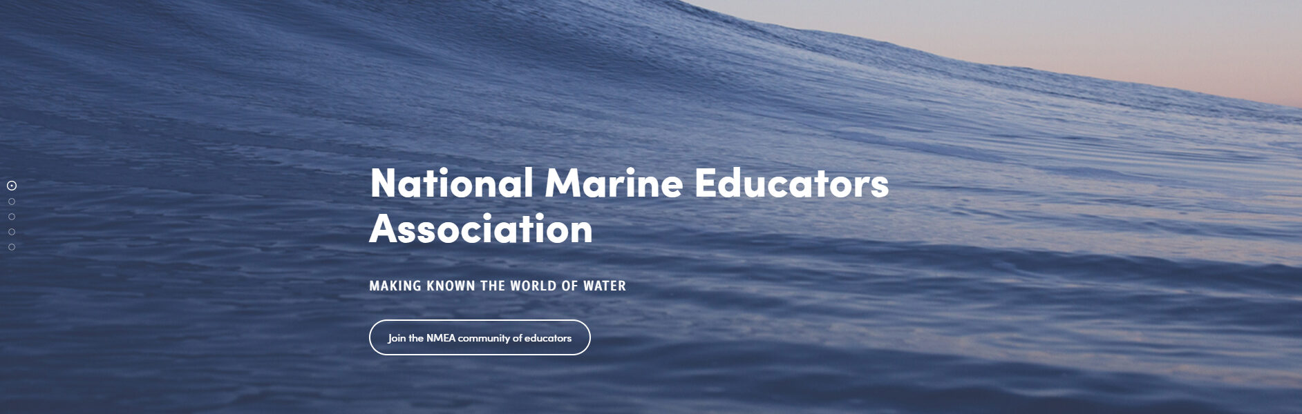 National Marine Educators Association